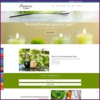 """Fully Stocked Dropshipping AROMATHERAPY Website Store. """"300 Hits A Day"""""""
