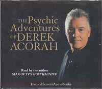 The Psychic Adventures of Derek Acorah 2CD Audio Book TV Psychic Most Haunted