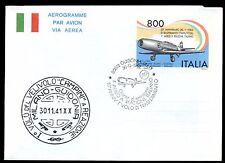 ITALIA REP. - Aerogrammi - 1991 - CAMPINI-CAPRONI