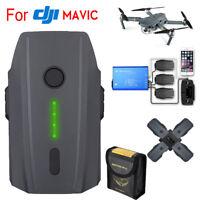 11.4V 3830mAh Intelligent Battery & Charger For DJI Mavic Pro/Platinum/Alpine US