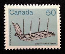 Canada #930 MNH, Sleigh Artifact Definitive Stamp 1985