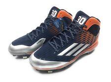 Adidas LiteStrike Iron Skin Metal Baseball Cleats Mens 13 Carlos Gomez Ortholite