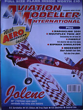 Aviation Modeller International - August 2001 Complete with Unused Plan FIREFLY