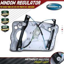Window Regulator W/o Motor W/ Panel Front Left for Skoda Fabia I Praktik 1999-08