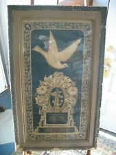 Antique Framed 1899 Family death Memorial Memory John Holtzclaw 23 years