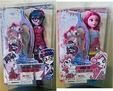 My Little Pony Equestria Girls Doll & Pony Wave 1--Twilight Sparkle,Pinkie pie