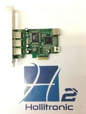 Startech PEXUSB4DP High Speed USB 2.0 PCIe Adapter Card *USED*
