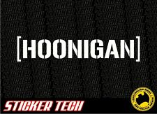 HOONIGAN HOON KEN BLOCK HATER CAR WINDOW STICKER DECAL SUITS DC JDM DRIFT EURO