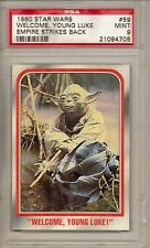 1980 STAR WARS #59 WECOME YOUNG LUKE - EMPIRE STRIKES BACK  PSA 9  MINTT