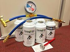 R134a, R12, Alternate A/C Enviro-Safe Industrial Refrigerant SUPER COLD!!