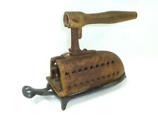 ANTIGUO Plancha con base XIX SIGLO bügeleisenuntersetzer