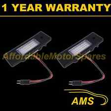 2X FOR BMW Z4 E89 2009 On 2009 On 24 WHITE LED NUMBER PLATE LIGHT LAMPS