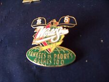 1998 WS World Series lapel pin NY New York Yankees vs SD San Diego Padres