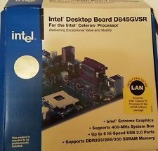 NEW Intel Motherboard D845GVSR Socket 478 Pentium 4 Celeron compatible