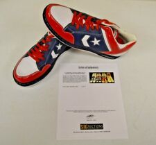 Converse Weapon Basketball Puerto Rico 14 DWAYNE WADE Personal Shoes w COA #7