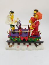 The Simpsons Christmas Express Train A CAROLING SURPRISE Figurine