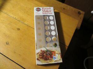 Norpro Ravioli Maker With Press Pasta Dough Mold Tool 1043