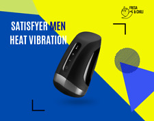 Satisfyer Para Hombre Men Heat Vibration - Masturbador Masculino