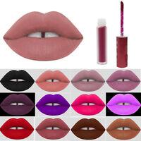Waterproof Liquid Lipstick Matte Lip Gloss Velvet Lip Beauty Long Lasting Sexy