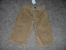 Gymboree Baby Boy Tan Corduroy Pants Size 6-12 months mos NWOT NEW Infant Winter