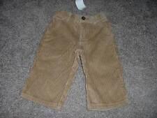 Gymboree Baby Boys Tan Corduroy Pants Size 6-12 months mos NWT NEW Infant Winter