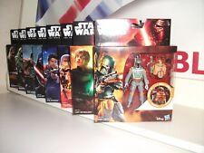 Star Wars The Force despierta Armadura De Onda Completa Hasbro Caja Luke Boba Fett Kylo