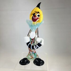 Vintage Murano Handcrafted Clown Figurine
