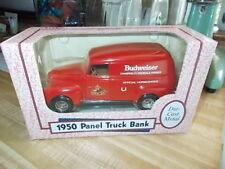 ANHEUSER-BUSCH - BUDWEISER 1950 Chevy Panel Truck Bank by ERTL