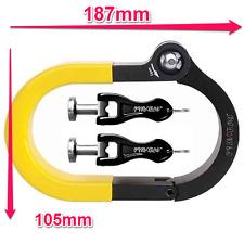 Pinhead City Lock Bike Frame Lock Heavy Duty Shackle Security 187mm x 105mm