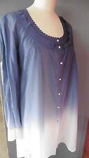 Créateur COP COPINE Delicate chemise/tunique longue modèle Georgie T36