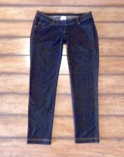 TWO HEARTS Maternity ~ Size Medium ~ Dark Wash PULL-ON Skinny Jegging Jeans M