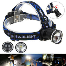 Zoomable 8000LM XM-L T6 LED Focus Linterna Cabeza Luz Frontal LÁMPARA 3* AAA