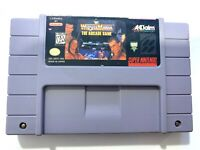 WWF Wrestlemania: The Arcade Game SUPER NINTENDO SNES Game Tested & Working!