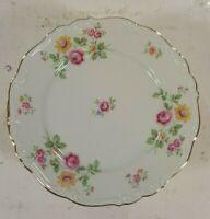 "Vintage Edelstein Bavaria Queen's Rose Bread Plate 6 1/4"" 12 pcs."