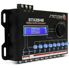 Stetsom STX2848 Digital Audio Processor Crossover Equalizer 2 Channels 8 Way