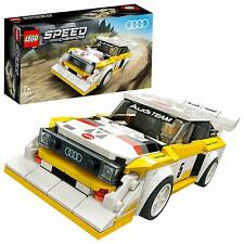 LEGO SPEED CHAMPIONS 76897 1985 AUDI SPORT QUATTRO S1  Nuevo