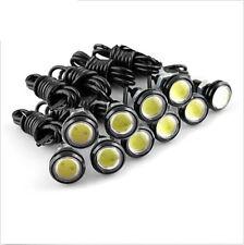 10X 12V Motor Car 3W LED Eagle Eye White Light Daytime Running DRL Backup Lights