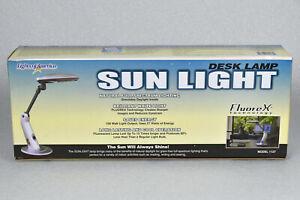 NEW Lights of America Desk Lamp Sun Light Full Spectrum Daylight Model 1127