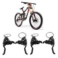 MTB Bike 21 Speed Derailleurs Disc Brake Pad Handle Crank Levers Transmission