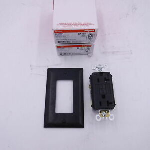 2pk Legrand Pass Seymour 2097BK 20A BLACK GFCI Self Testing Receptacle 125V