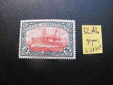 GERMANY/SWA 1906 MI.NR. 32AB YACHT EXPERTISED MNH $360