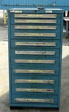Lyon Vidmar Cabinet and Contents 11 Drawer Nuts and Bolts Extra WVS
