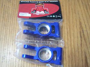 050007 Redcat Racing Blue Aluminum Rear Hub Carrier Rampage MT TT Dunerunner