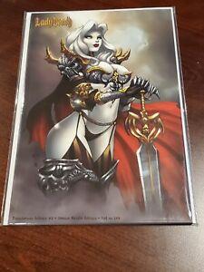 Lady Death Treacherous Infamy - Demon Knight Edition by Jesse Wichmann - New