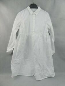 ASOS Design Women's Maternity Long Shirt Style White Size UK 10 New With Tags