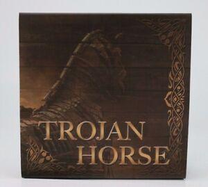2016 Niue TROJAN HORSE Ancient Myths 2 Oz Silver Coin 10$