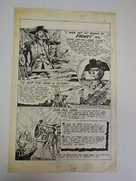 Classics Illustrated Original Comic Art    Fred Ray     1974
