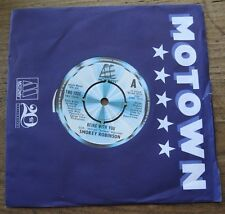 """VG+  SMOKEY ROBINSON - Being with you / What's in your life for me  - 7"""" single"""