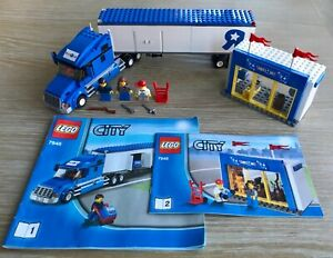 Lego City Toys R Us Truck (7848) With Minifigures & Instructions