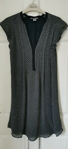 H&M Dress. Blue pattern. Size 10. Never Worn!!. Fast Post!!